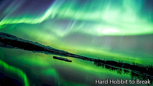Countries where you can see the northern lights