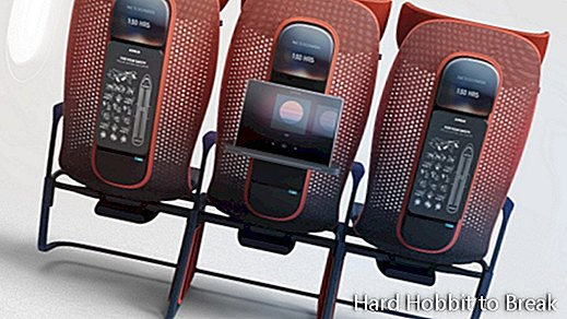 So are the airplane seats of the future