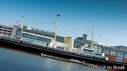Royal Yacht--Britannia