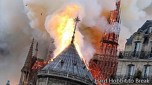 Notre-Dame-fiamme