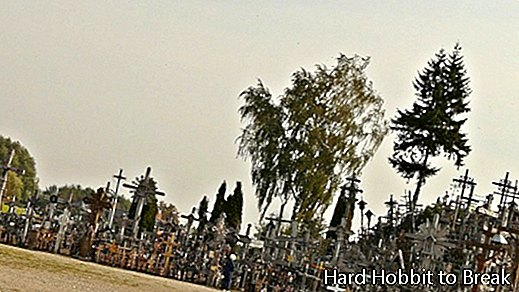 Hill of Crosses photo