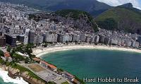 Travel to Copacabana in Brazil