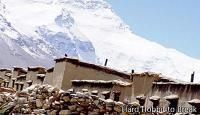 Rongbuk Monastery, the highest inhabited place on the planet