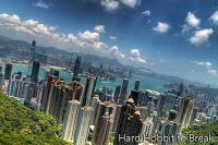 The spectacular Victoria Peak in Hong Kong