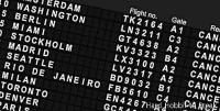 Airports with the most cancellations