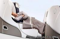Air France's big business class bed