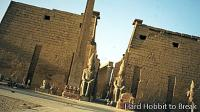 The Luxor Temple in Egypt