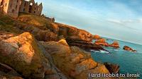 Slains Castle in Scotland