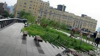 High Line jazda v New Yorku