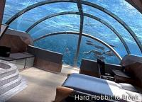 Luxury underwater hotel in China