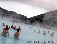 Blue Lagoon, a geothermal spa in Iceland