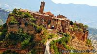 Civita di Bagnoregio, an Italian town with a lot of magic