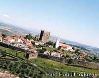 The Portuguese city of Bragança