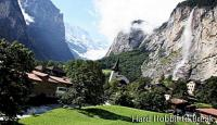 Lauterbrunnen, the valley of 72 waterfalls